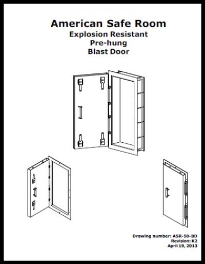 Blast door manaul