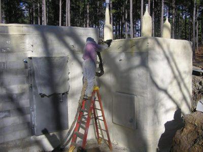 Sealing the generator room