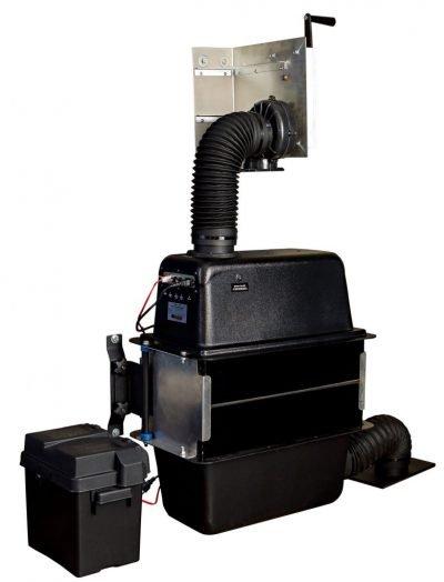 120 CFM CBRN filtration system