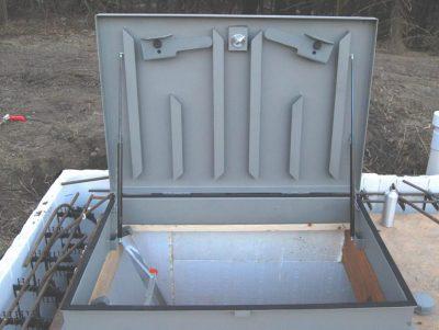 Custom 48 x 32 inch blast hatch