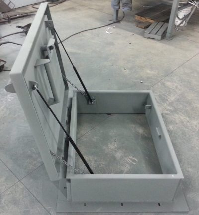 Custom 30 x 39 inch insulated roof hatch