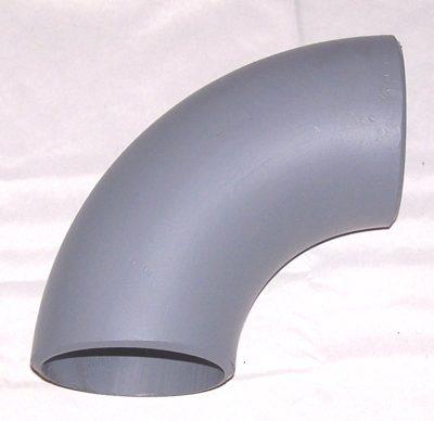 Butt weld steel 90 degree fitting