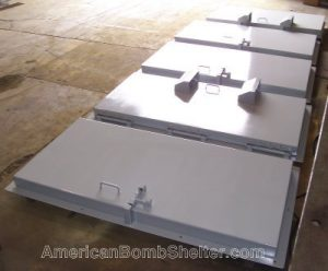 door blast five doors for high security facility 400w