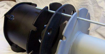Alternate installation of a blast valve