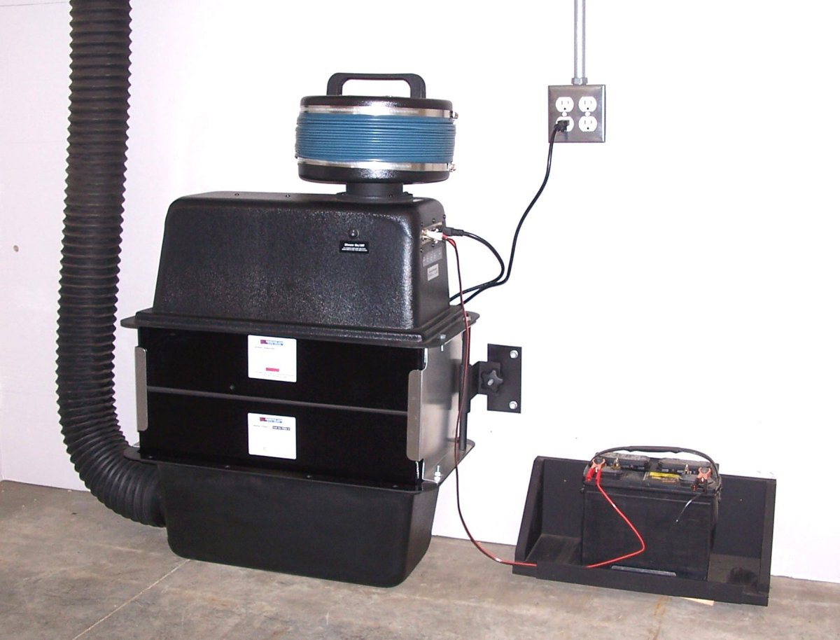 Air Filtration Units : Cfm safe cell filtration system only with automatic