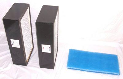 Complete set of filters for the 120 CFM Safe Cell