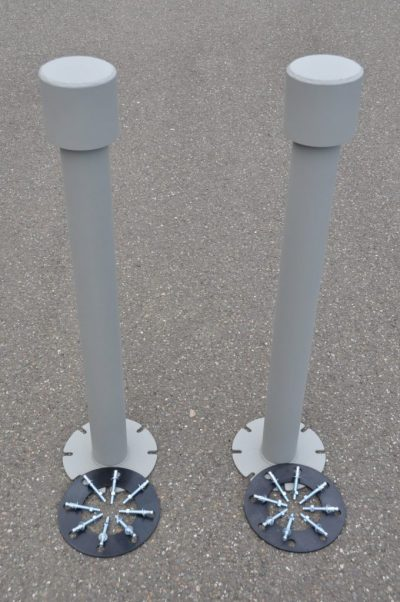 Safe room ventilation pipes